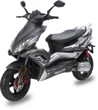MANCINI FIGHTER 50CC SCOOTER 12""
