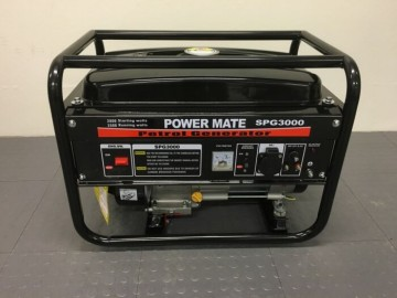 POWER MATE USA 3000 BENSINAGGREGAT